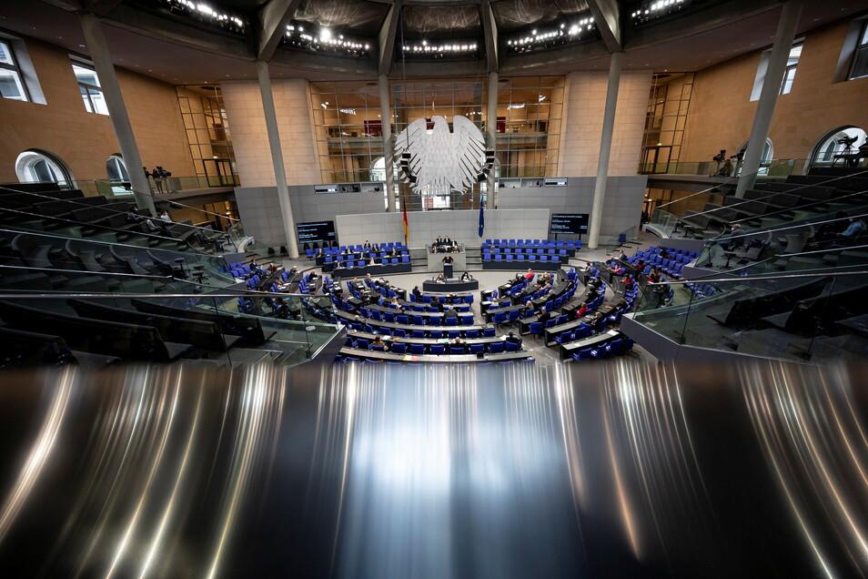 Das Parlament in Berlin hat heute Steuerentlastungen beschlossen.