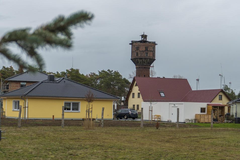 Schöne Wohnsiedlung in Neudorf.