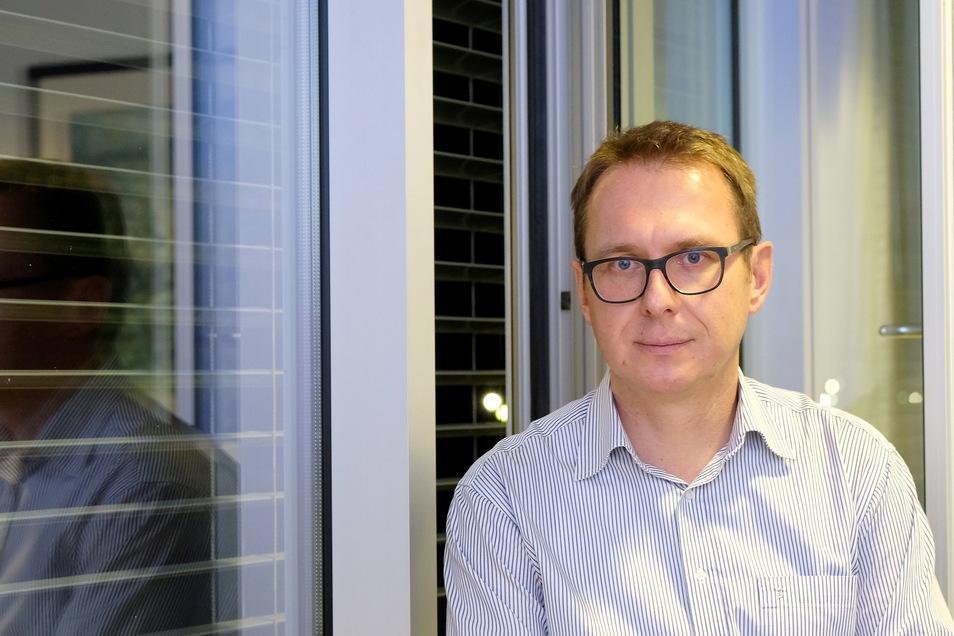 Ralph Schibbe ist Geschäftsführer der Elbland Polikliniken.