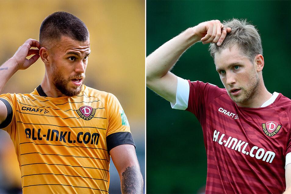 Sascha Horvath oder doch Patrick Weihrauch? Wer soll bei Dynamo im zentralen Mittelfeld das Spiel lenken?
