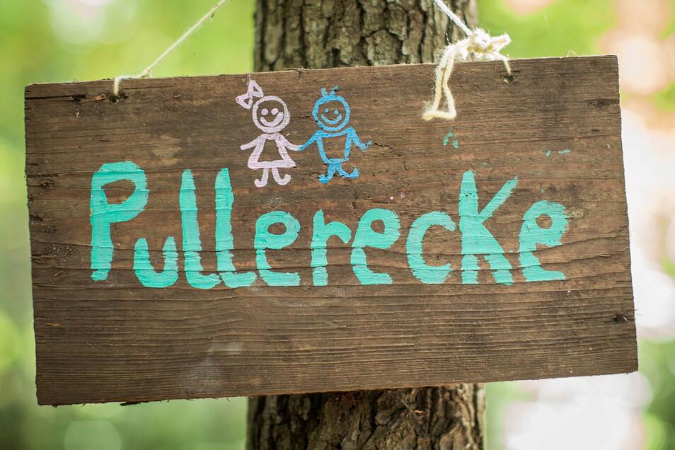 Auch im Wald gibt es Regeln - und für jedes Bedürfnis eine Ecke.