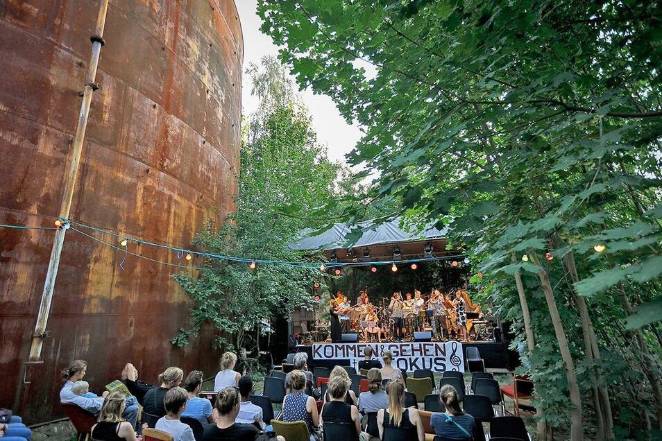 Das Fokus-Festivals auf dem Gelände der früheren Hefefabrik vor zwei Jahren.