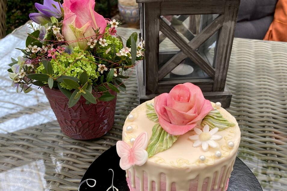Ein romantisches Geschenk zum Muttertag, welches bei Bedarf auch noch geliefert wird.