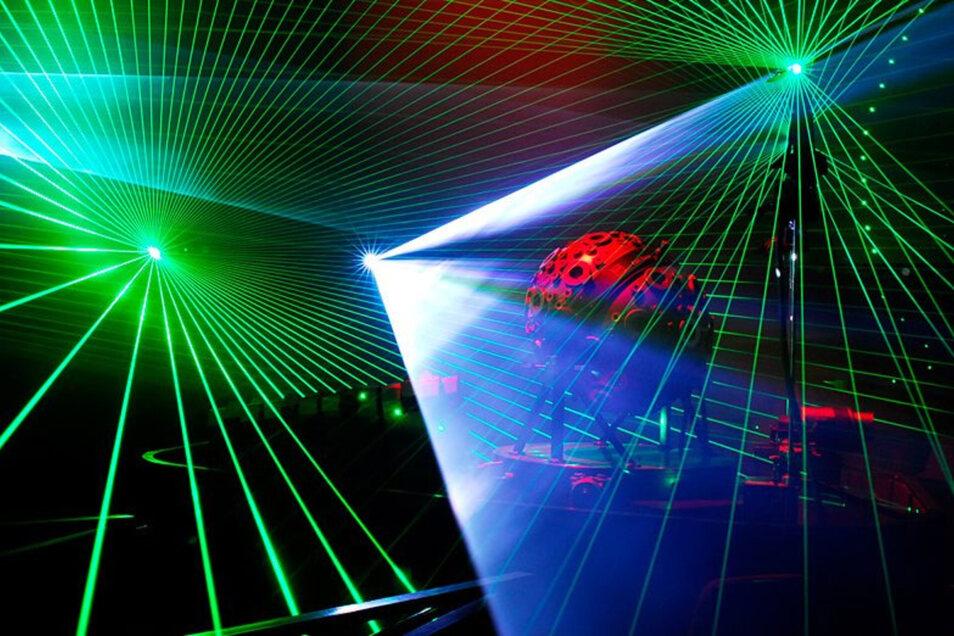 Lasershow (Foto) oder Höhenfeuerwerk -  was wird der Höhepunkt des Talsperrenfestes am Wochenende?