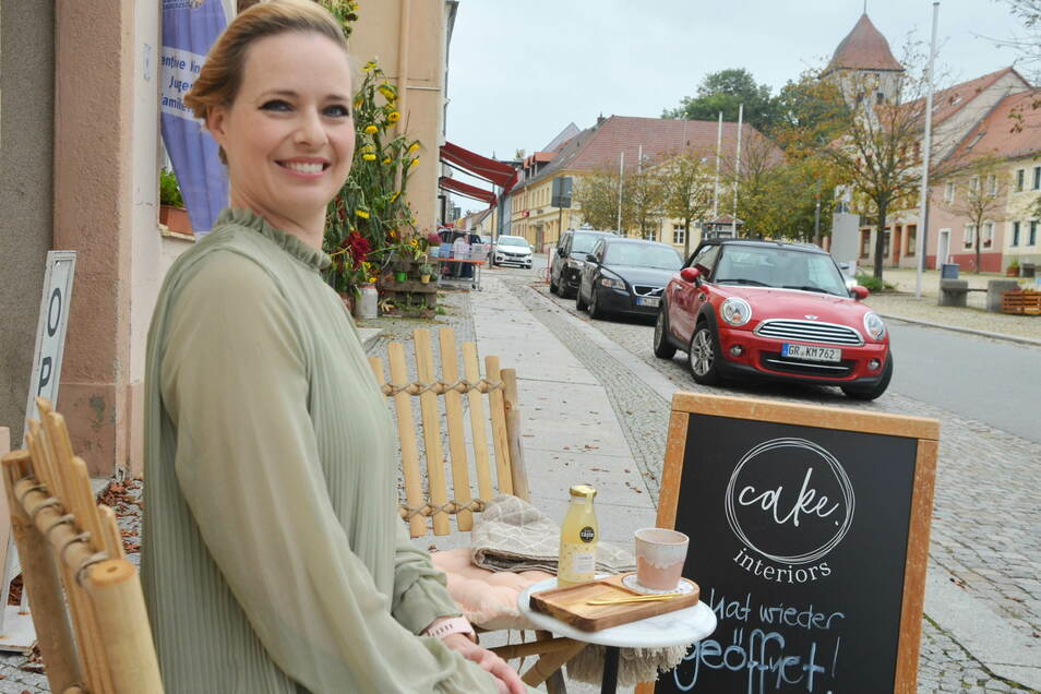 Stephanie Brade hatte schon lange die Idee, ein Mini-Café am Markt zu eröffnen. Im Oktober soll das spezielle Kaffee-Angebot starten.