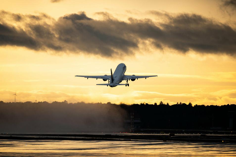 Der Sonne entgegen fliegen: Das geht inzwischen wieder. Allerdings sind Fernreisen derzeit nur in bestimmte Teile der Welt möglich.