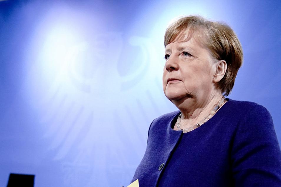 Bundeskanzlerin Angela Merkel (CDU) wird am Mittwoch mit den Länderchefs beraten.