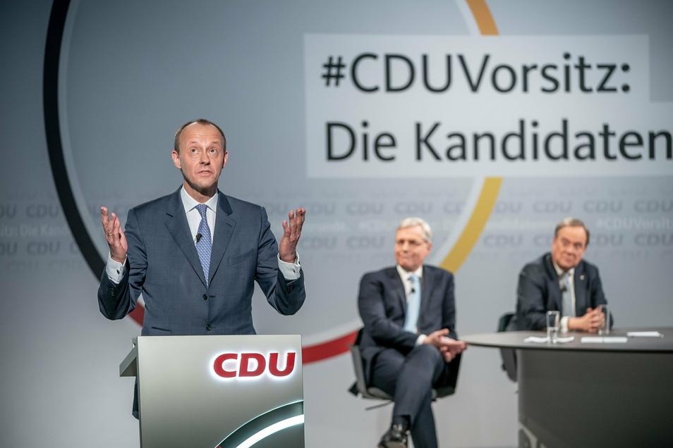 Friedrich Merz ist neben Norbert Röttgen und Armin Laschet Kandidat für den CDU-Vorsitz.