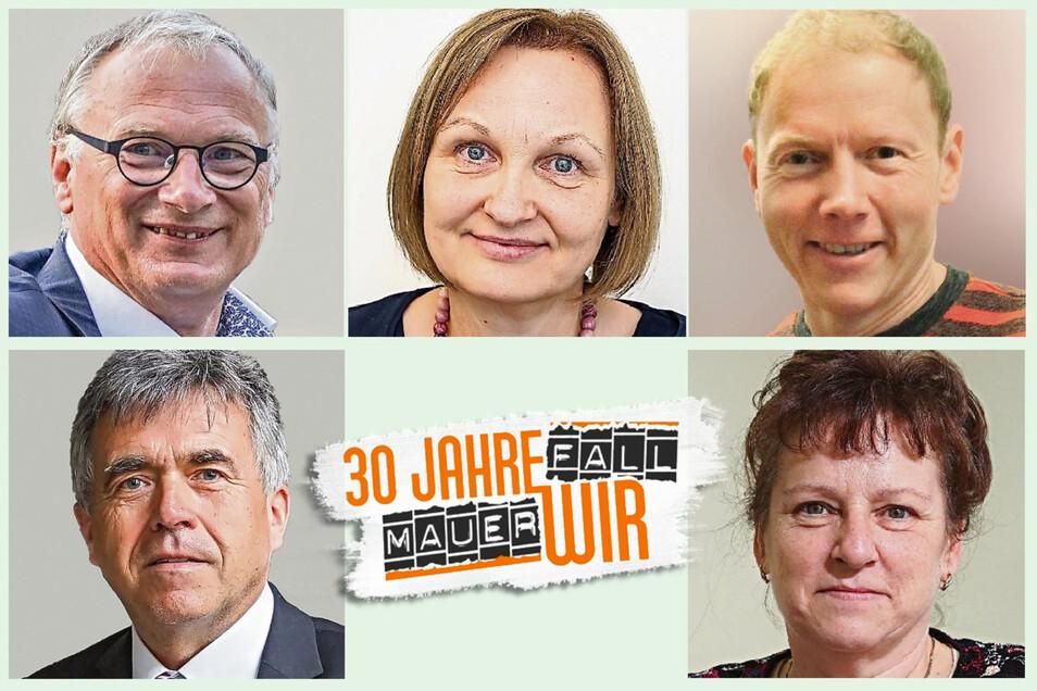 Lutz Hillmann, Christina Bogusz, Maik Petzold, Michael Harig, Jeanette Schneider