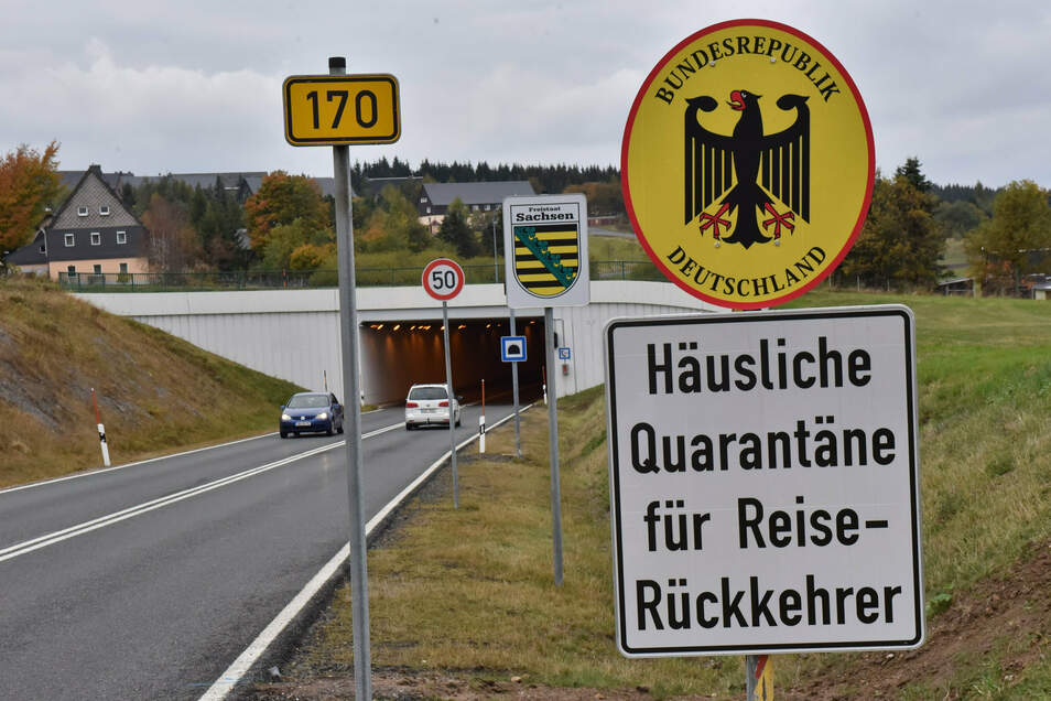 Die Quarantäne für Reiserückkehrer aus Tschechien gilt nicht beim kleinen Grenzverkehr.