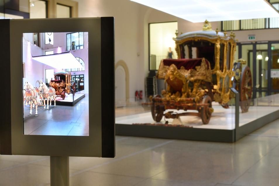 Das Verkehrsmuseum bietet seinen Besuchern einen Bereich mit Augmented Reality