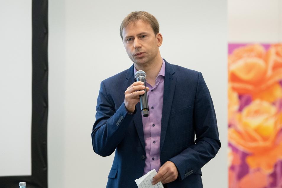 Holger Mann (42) tritt im Wahlkreis Leipzig I an.