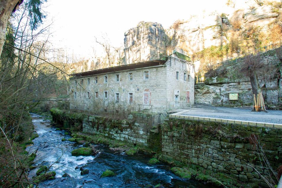 Die umfangreichen Baupläne an der Lochmühle im Liebethaler Grund werden bislang nicht voll umfänglich genehmigt.