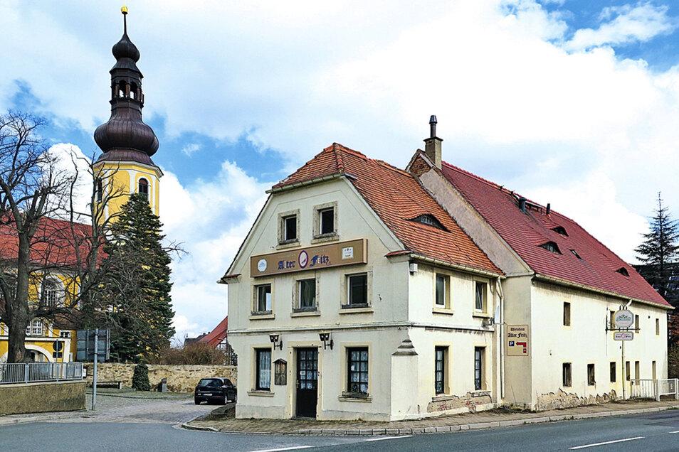 """Denkmalg. ehemaliger Gasthof """"Alter Fritz®"""" in Hochkirch / Mindestgebot 15.000 Euro"""