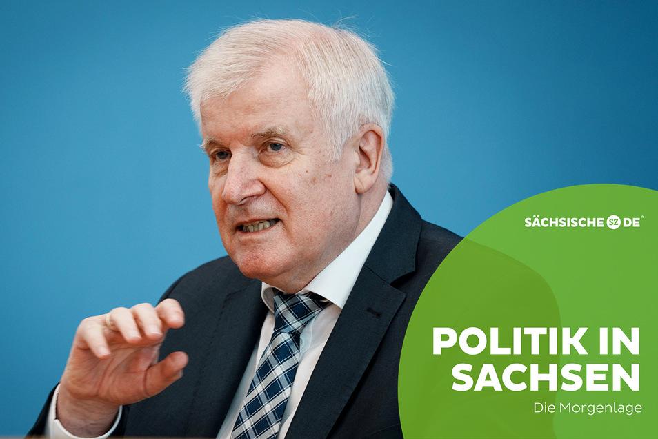 Bundesinnenminister Horst Seehofer stellte in Berlin den Verfassungsschutzbericht für 2020 vor.