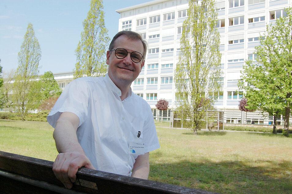 Dr. Thomas-Peter Ranke, der aus dem Vogtland stammt und in Bautzen lebt, ist seit Monatsanfang Chefarzt am Seenlandkinikum.