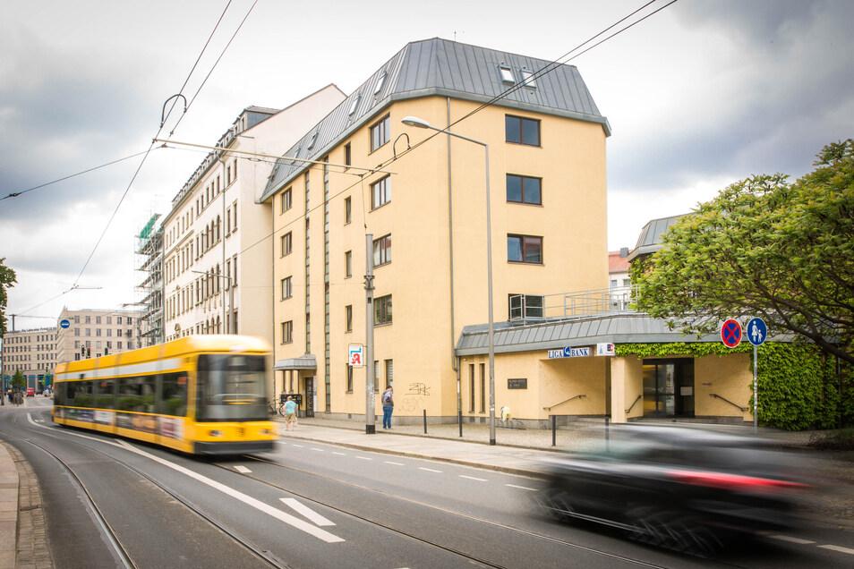 Das Gebäude an der Schweriner Straße soll Platz für einen Neubau machen.