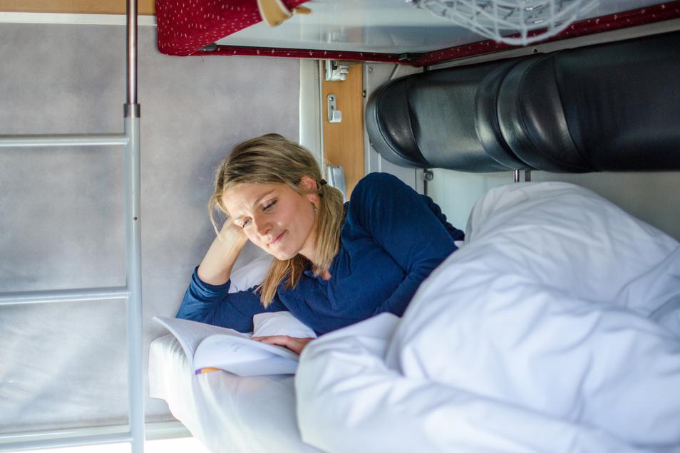 So sieht es in den Schlafabteilen der Regiojet-Waggons aus. Wahlweise können Fahrgäste aber auch im Sitzplatzabteil reisen. Preise nennen die beteiligten Unternehmen noch nicht.