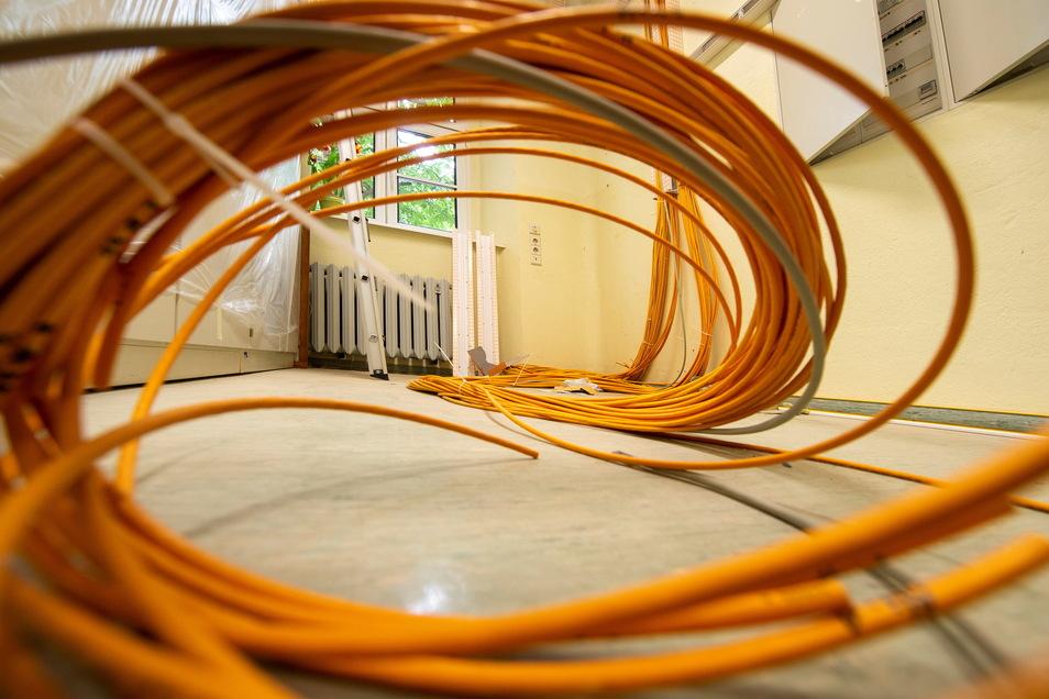 Wie hier in der Grundschule in Brockwitz besteht auch in Meißner Schulen ein hoher Bedarf nach schnellem Internet. Der Stadtrat hat in diesem Bereich ein konkretes Projekt angeschoben.