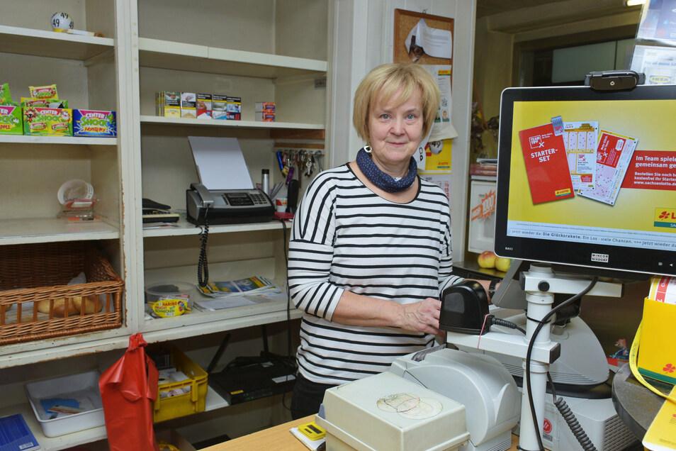 """Nach 28 Jahren gibt Simone Janke ihren """"Tante-Emma-Laden"""" in Ziegenhain auf."""
