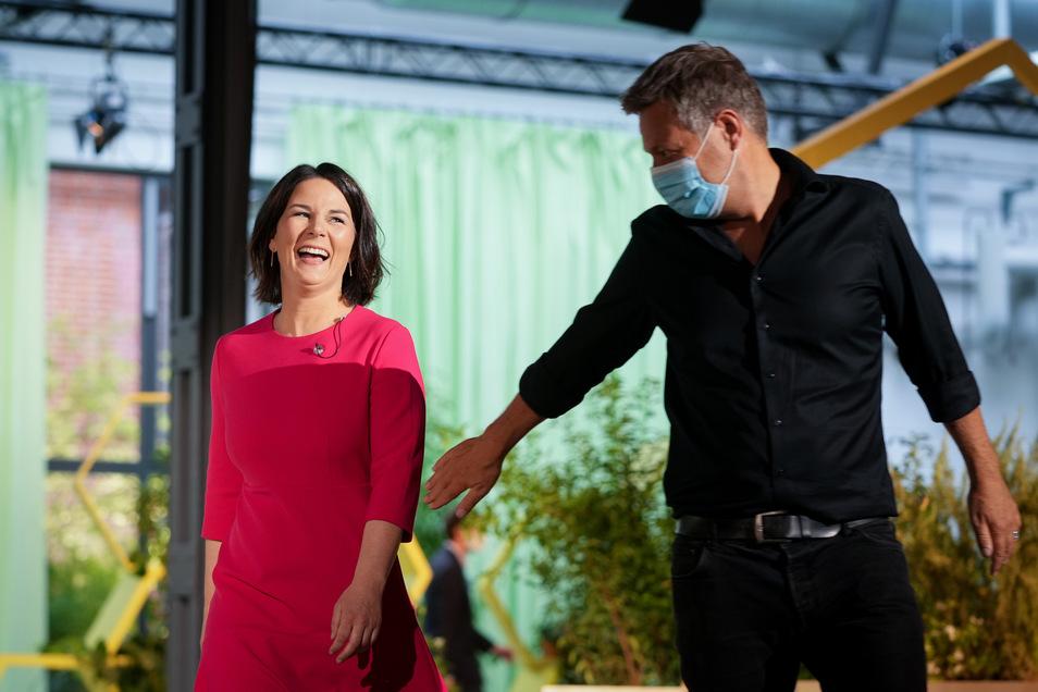 Der Grünen-Parteitag hat Annalena Baerbock am Samstag offiziell zur Kanzlerkandidatin gekürt.