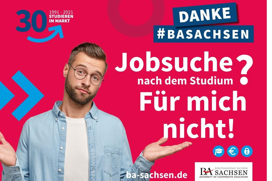 """""""Jobgarantie"""" – mit weiterhin überdurchschnittlich hohen Vermittlungsquote bietet die Berufsakademie Sachsen beste Perspektiven für Studienabgänger."""