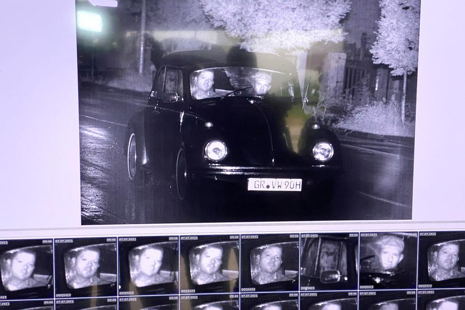"""Dieses Foto schoss das System """"Peris"""" vom Landtagsabgeordneten Stephan Meyer und Zittaus Oberbürgermeister Thomas Zenker."""