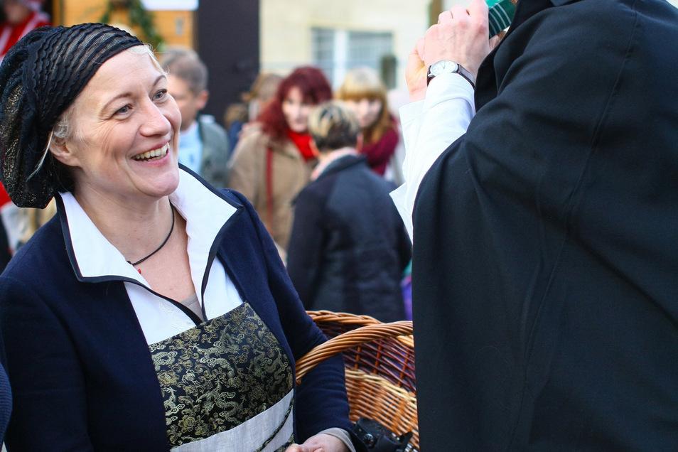 Bei den Reformationsfesten in Lauenstein schlüpfte Katrin Küttner in die Rolle von Luthers Frau, Katharina von Bora. Sie war eine der Hauptorganisation dieser Feste. Deshalb möchte sie bei der nächsten Neuauflage dabeisein.