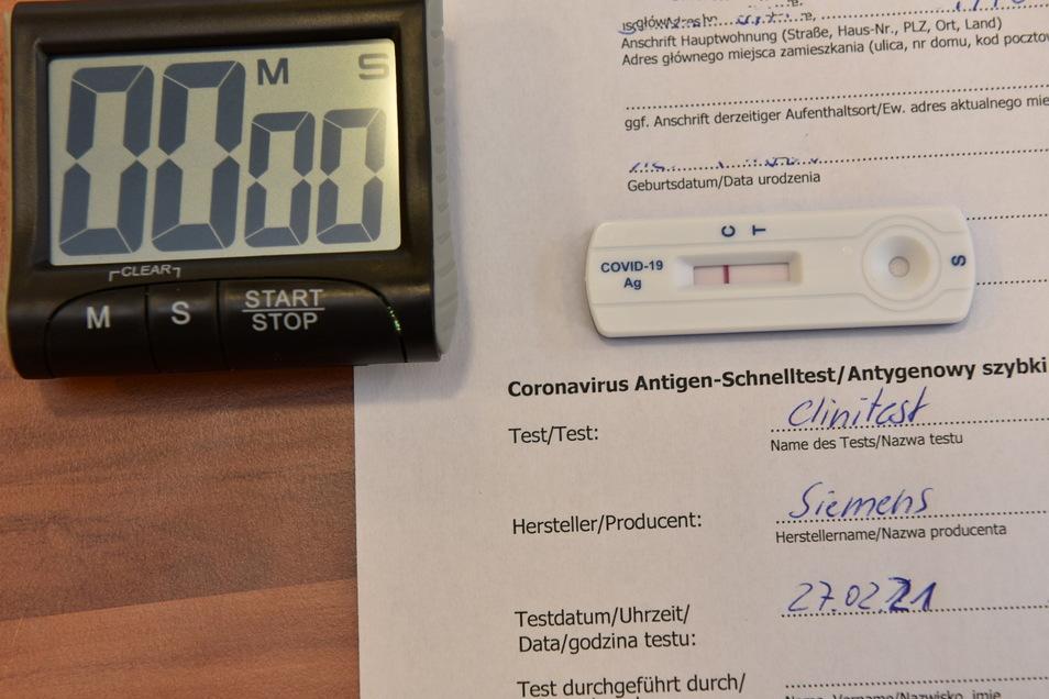 Bis auf einen waren sämtliche Corona-Tests im Landkreis seit einer Woche negativ.