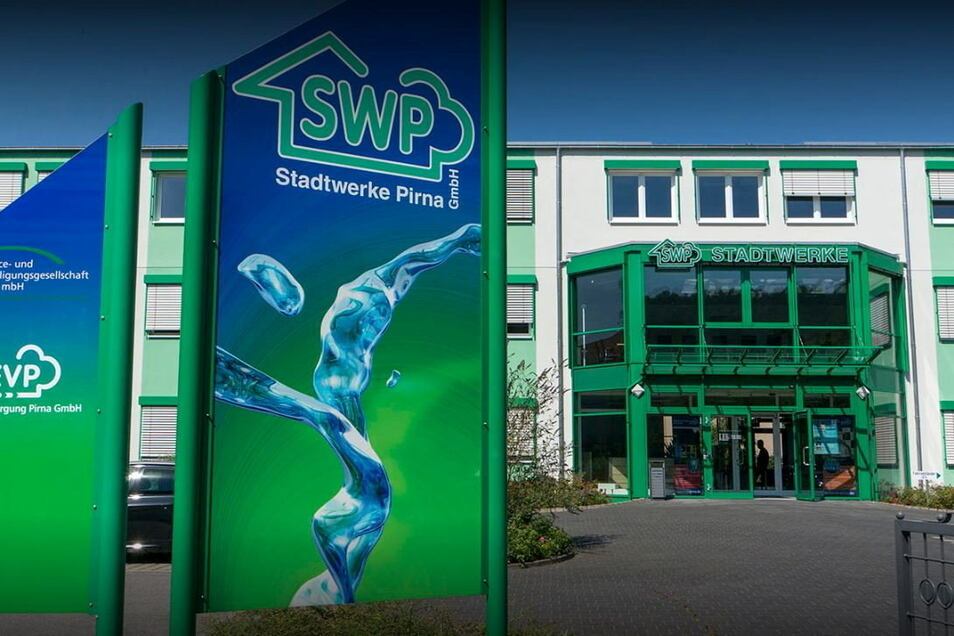 Stadtwerke-Sitz an der Seminarstraße in Pirna: Wieder offen für Kundenbesuche.