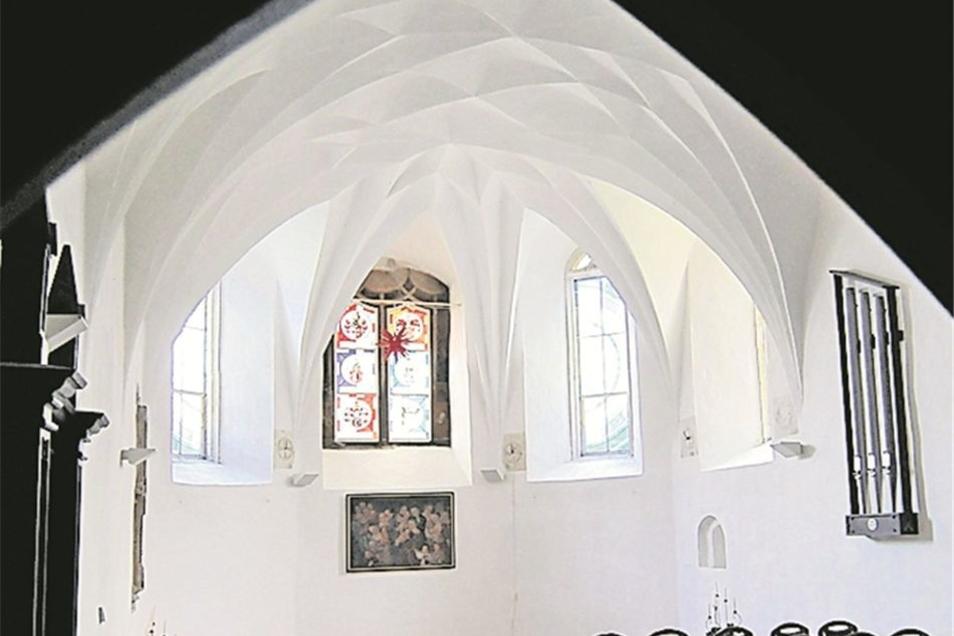 Die Kapelle: Sie wird bislang vom Standesamt Lommatzsch für Trauungen genutzt. Das dürfte so bleiben – wenn der neue Pächter keine anderen Pläne hat.