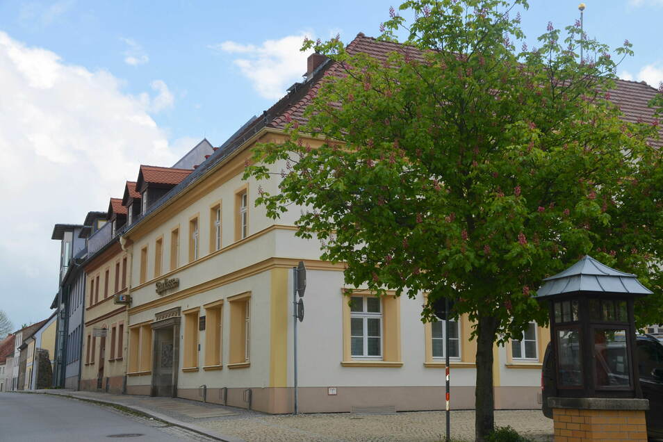 Die Sparkasse in Reichenbach.