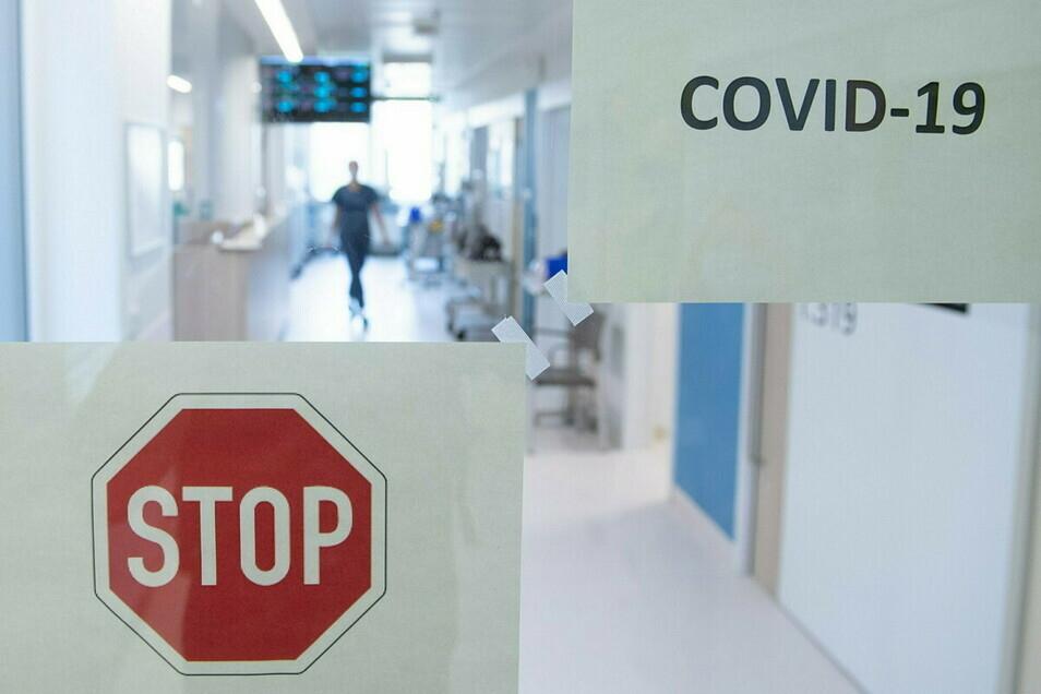 Die Kliniken im Kreis sind bei Corona an der Belastungsgrenze.