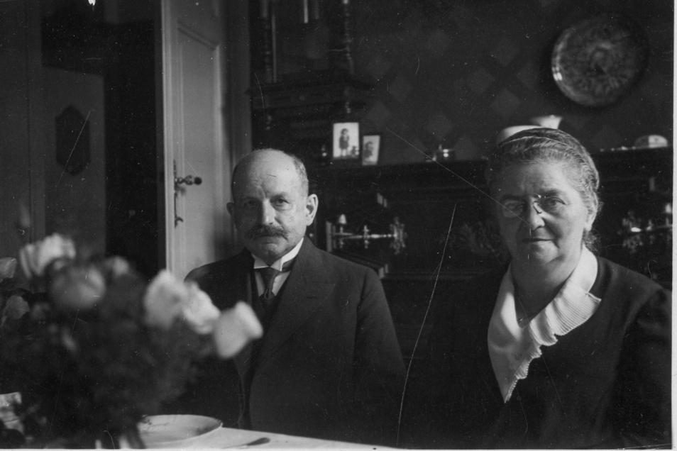 Margarete und Paul Arnade im Jahr 1930.