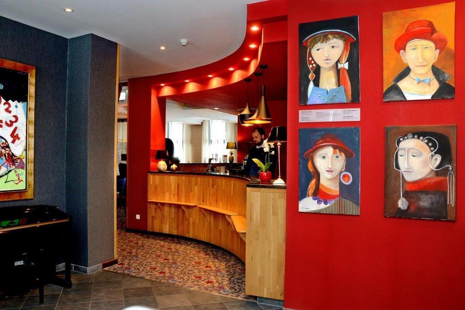 Wir begrüßen Sie recht herzlich in unserem Foyer des Boutique Hotel Residenz