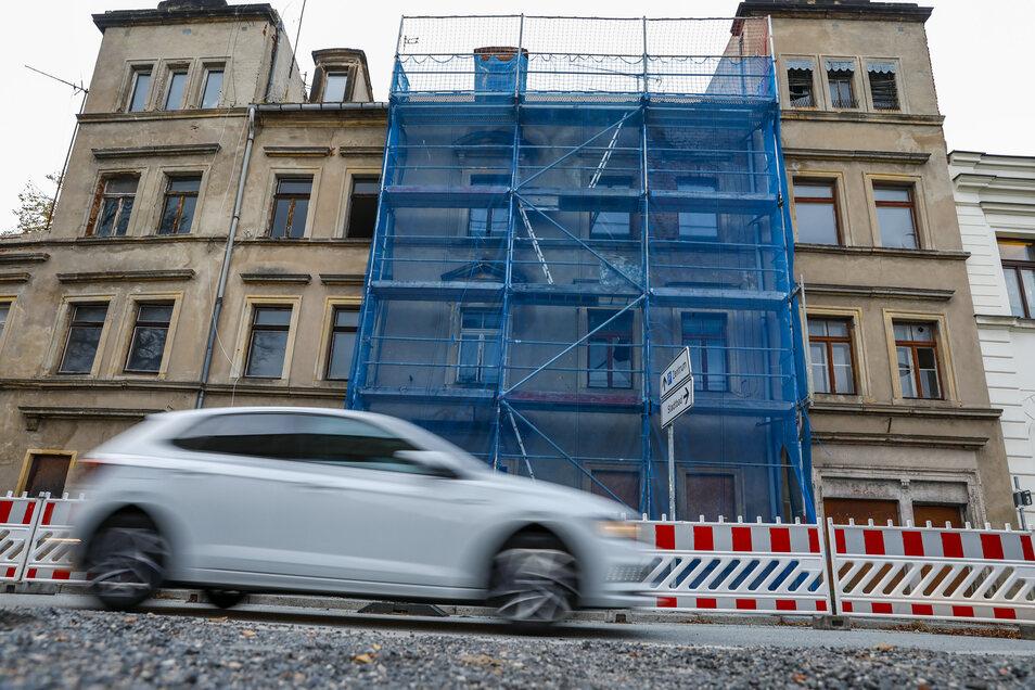Das Gebäude Mandaustraße 2 in Zittau.