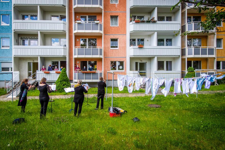 """""""Saubere Töne"""": Das Foto der Chemnitzer Fotografin Kristin Schmidt gewinnt den Hauptpreis beim diesjährigen """"blickpunkt""""-Wettbewerb.."""