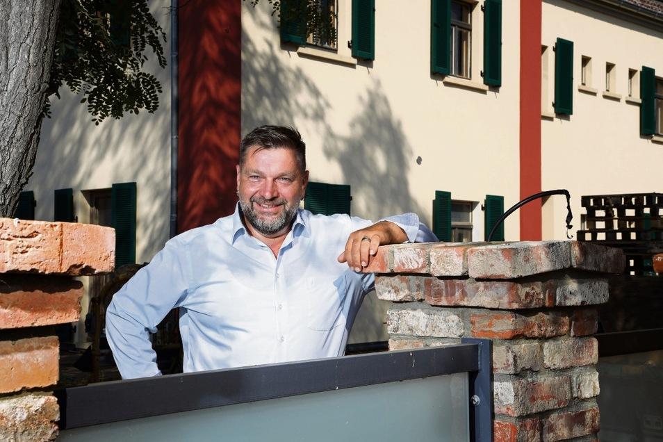 Enrico Barth (AfD) ist enttäuscht vom Wahlergebnis, will es aber nochmal wissen.
