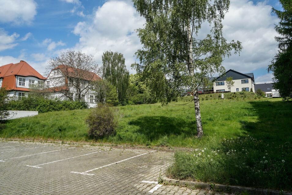 Auf diesem Grundstück direkt hinter der ehemaligen Lutherschule und neben dem sogenannten Kaufhaus in Großpowtwitz sollen altersgerechte Wohnungen entstehen.