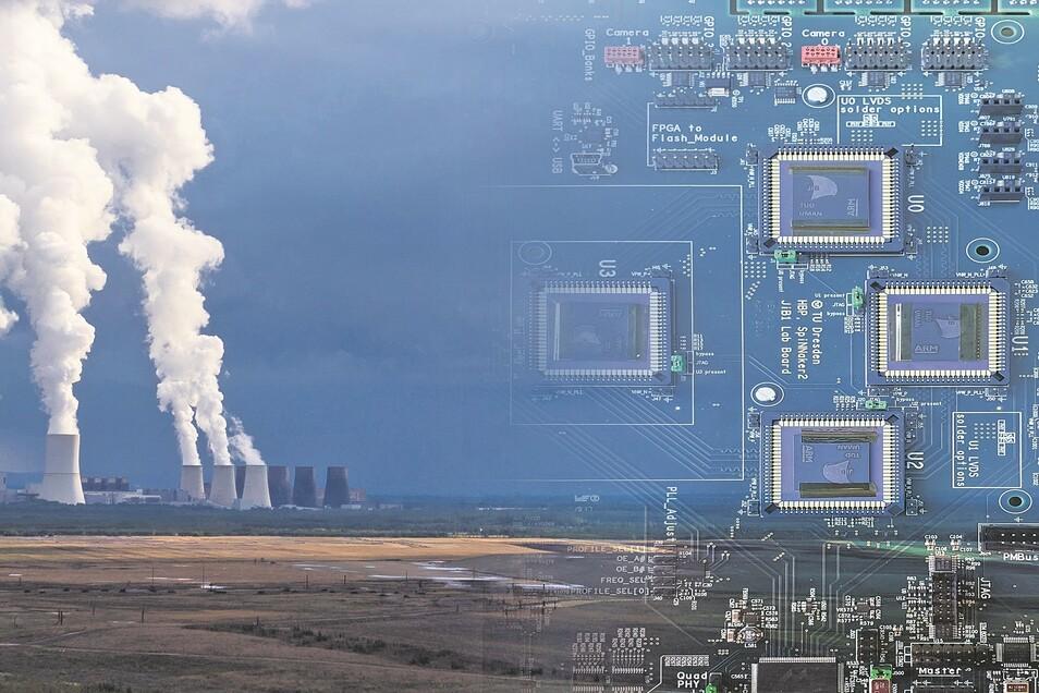Wenn die Kohle geht, soll die Chipindustrie kommen.