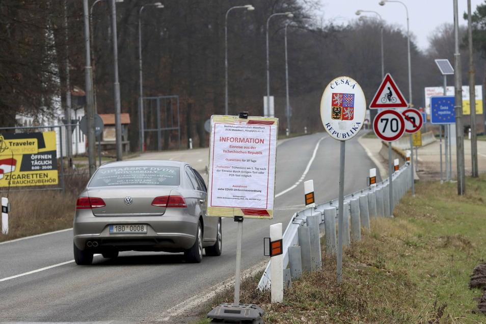 Die Grenze von Sachsen nach Tschechien soll offen bleiben.