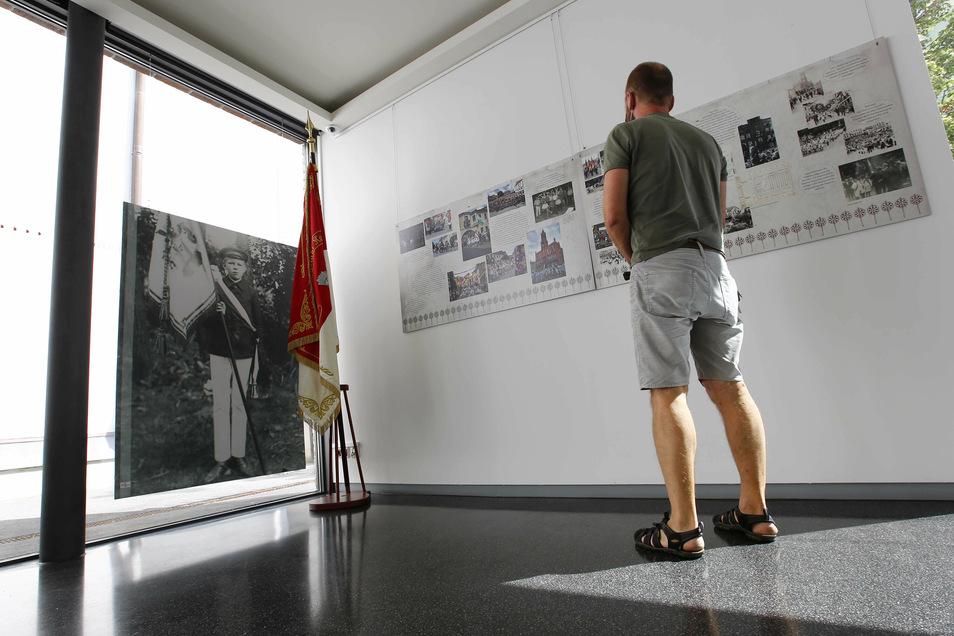Die Kabinett-Ausstellung in der Galerie im Sakralmuseum Kamenz zeigt viele historische Dokumente.