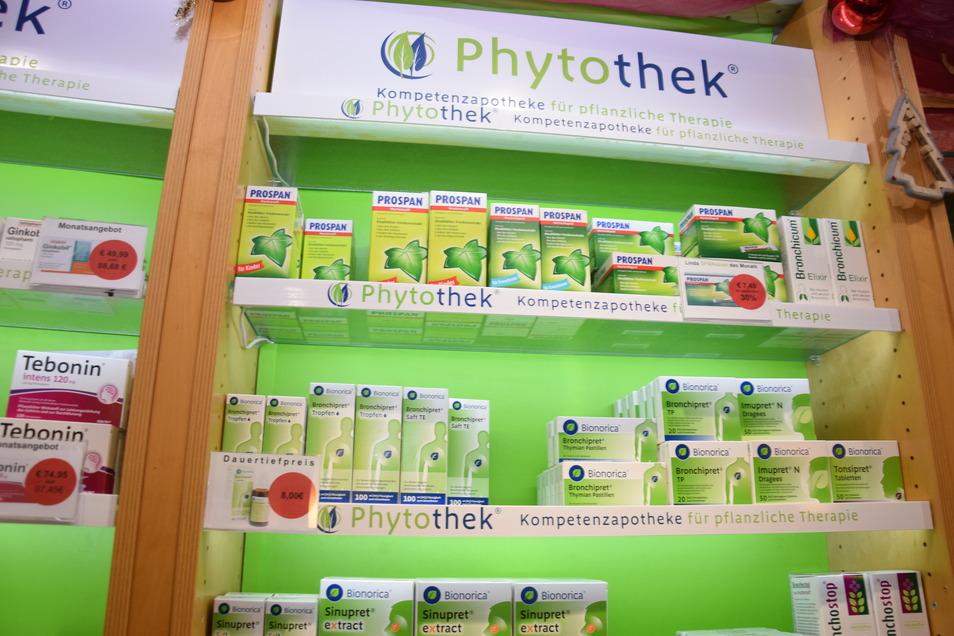 Die Phytothek in der FetscherApotheke