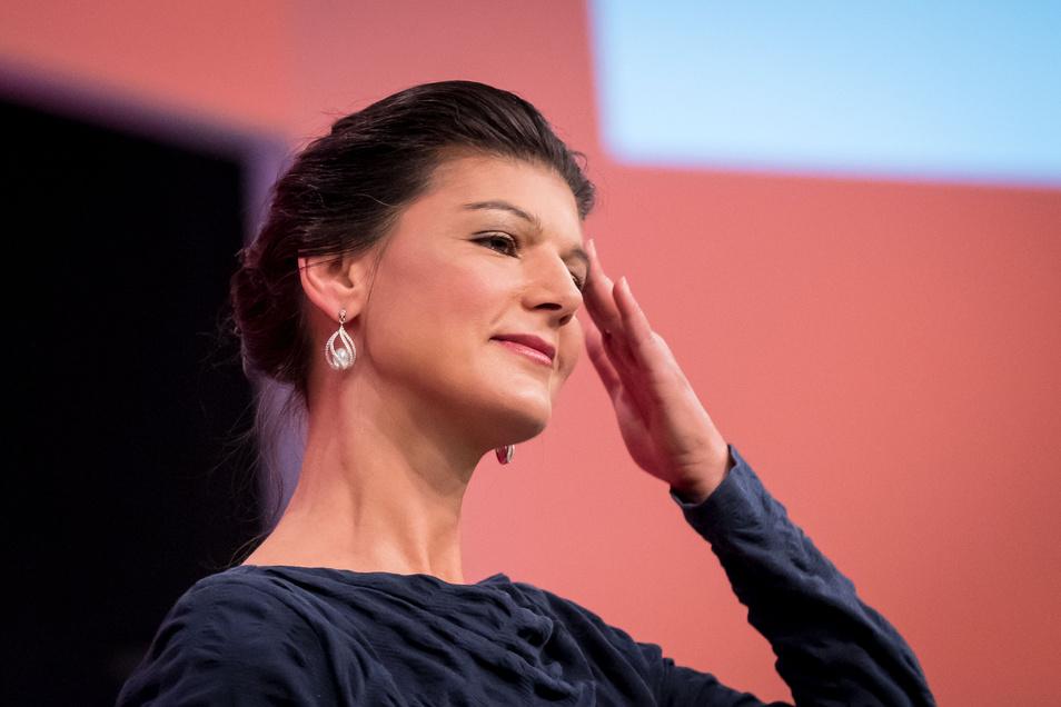 Sahra Wagenknecht war Spitzenkandidatin in Nordrhein-Westfalen und ist wieder in den Bundestag eingezogen.