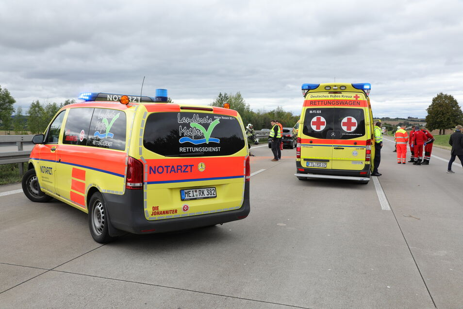 Im Einsatz waren die Freiwilligen Feuerwehren Wilsdruff und Klipphausen sowie zahlreiche weitere Rettungskräfte.