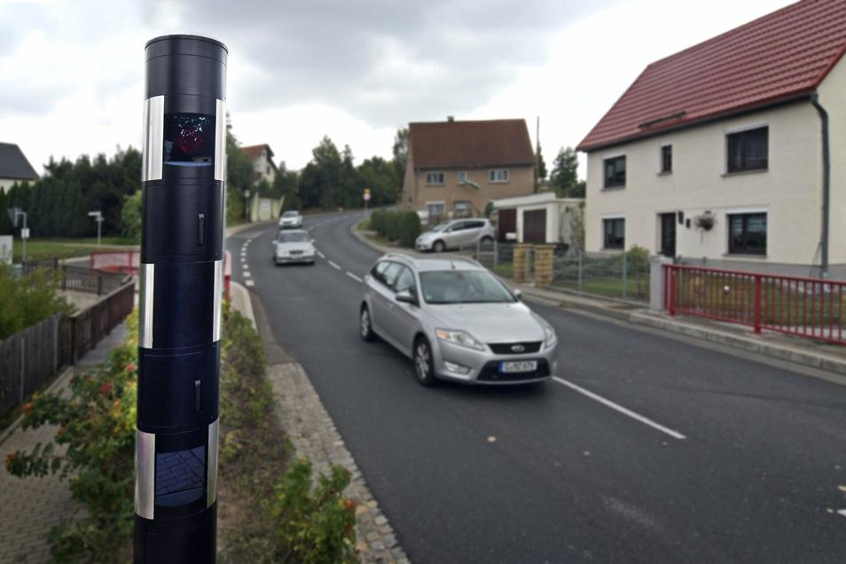 Im vergangenen Jahr ist auch der Blitzer an der B169 in Greifendorf scharf geschalten worden.