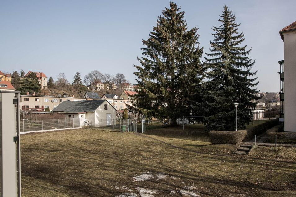 Auf dem kleinen Baugrundstück an der Ecke Carl-Zeiß-Straße und Dopplerstraße soll ein Wohngebäude mit 14 Miteinheiten entstehen.