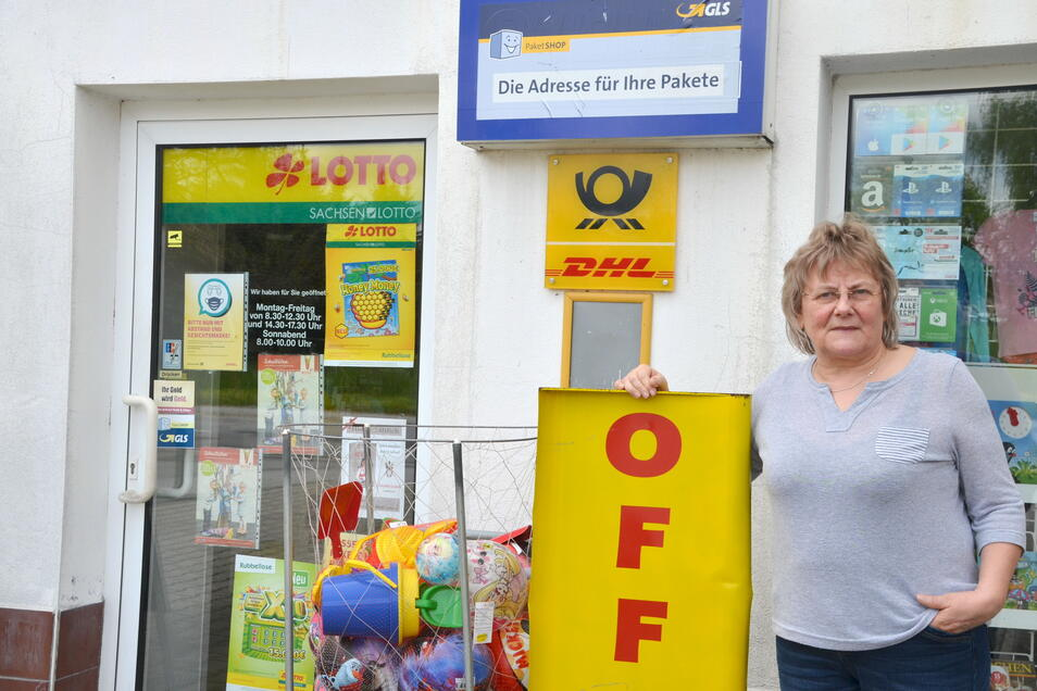 Der Laden von Ilona Richter hat bis Ende Juni täglich geöffnet.