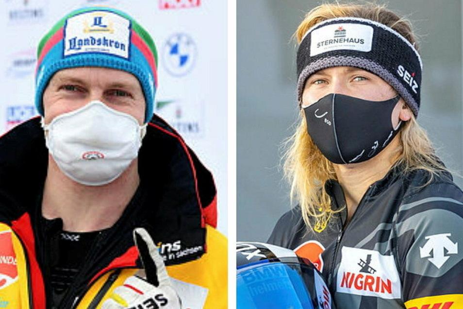 Francesco Friedrich hat in St. Moritz seinen insgesamt 47. Weltcup-Sieg eingefahren, Stephanie Schneider ihren zweiten beim zweiten Weltcup-Start in dieser Saison.