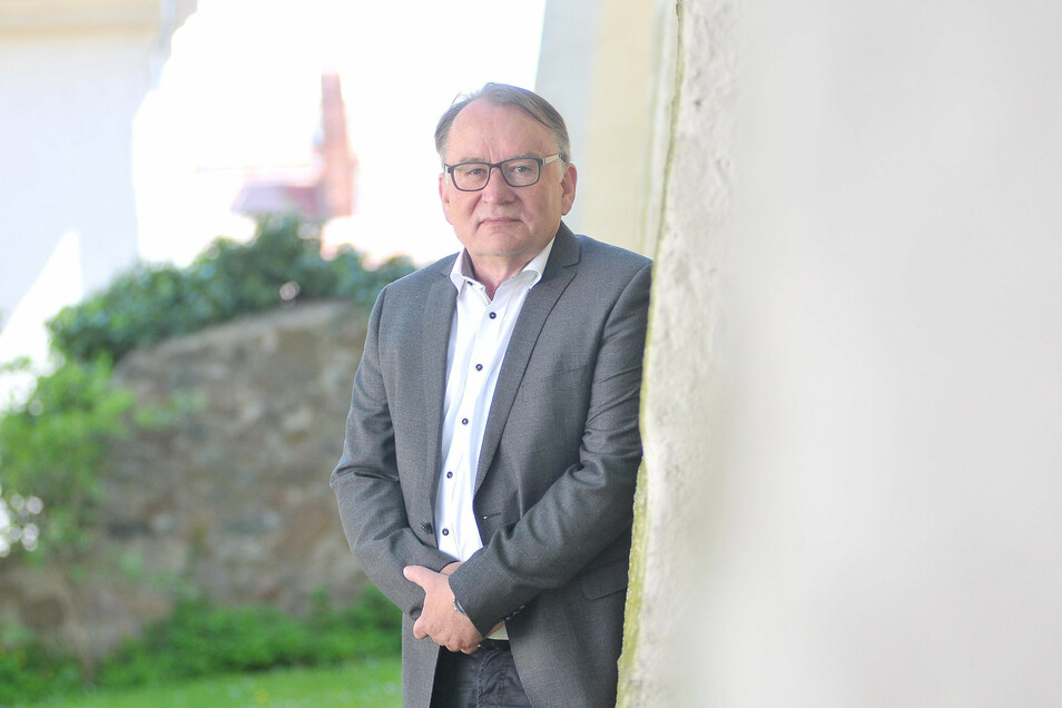 Seit August in Rente, aber kämpferisch wie immer: Ministerialdirigent Thomas Gey (SPD). Er führte jahrelang die Meißner Kreistagsfraktion der SPD, Grünen und Piraten, schaffte es aber bei der Wahl Ende Mai nicht mehr in den Kreistag.